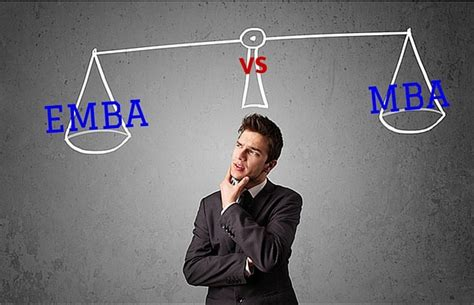 Getting An Emba Vs Mba by Emba Vs Mba How They Differ Prepadviser
