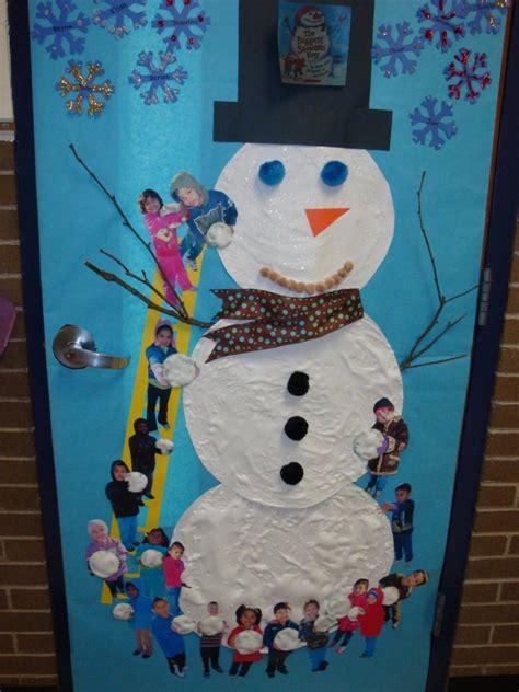 winter door decorating ideas winter door decoration we read the snowman