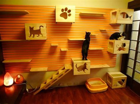 indoor cat room ideas luxury cat playhouse neatorama