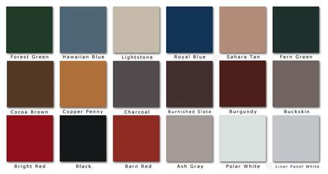standing seam metal roof colors metal barn roofing colors standing seam roofing color