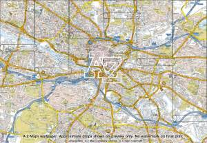 Home Interiors And Gifts Company Glasgow Street Map Wallpaper A Z Maps