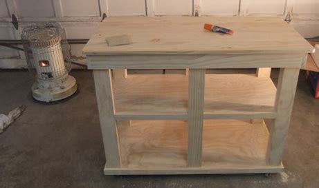 how to build kitchen island cart kitchen island project coptool