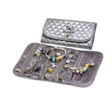 travel beading european bead charm travel jewelry organizer pouch by