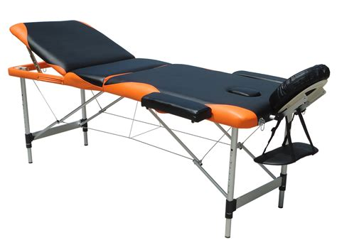 folding couch table massage table 3 section lightweight portable folding