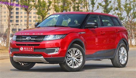 land wind x7 land rover la copia cinese della range rover evoque sta