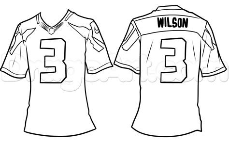 football jersey drawing lesson step by step sports pop