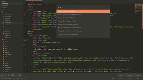 sublime text 3 predawn theme github ihodev sublime boxy it was the most hackable