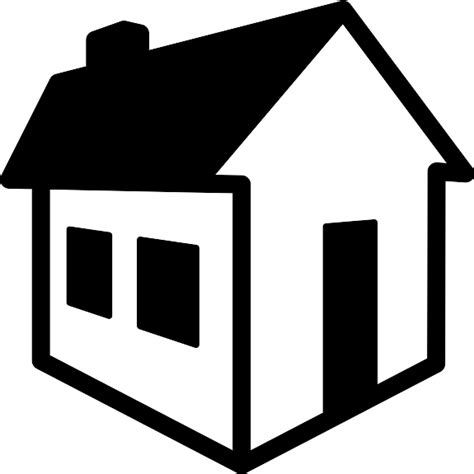 vector for free use 3d house icon 3d house svg file