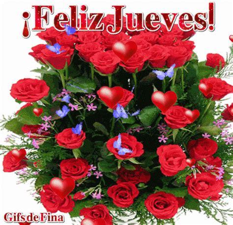 imagenes feliz jueves con rosas gifs fina 161 feliz jueves