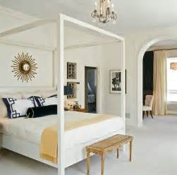 White Canopy Bedroom White Canopy Bed Transitional Bedroom Tish Key