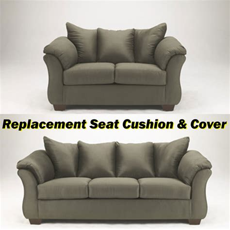 replacement sofa cushion covers couch replacement cushion covers