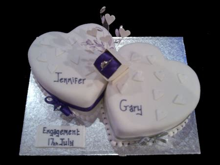 Engagement Cake Pictures by Elegance Of Blackpool Cakes Celebration Cakes