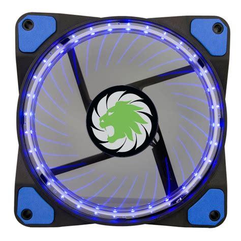 Da Gaming Led Cooling Fan 12 Cm max vortex blue ring 32 led 12cm cooling fan with