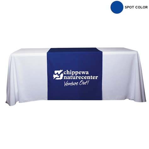 table covers banners runners promotional tradeshow