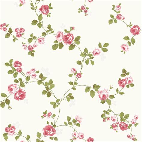 Wallpaper Floral Pink Vintage | vintage pink floral wallpaper wallmaya com