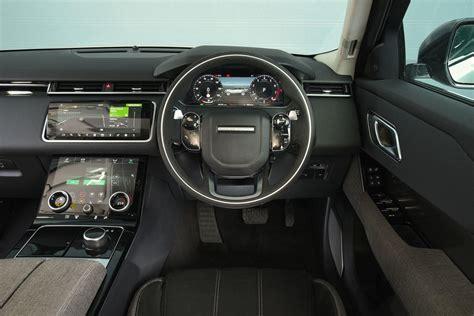 range rover velar dashboard range rover velar p300 2018 review autocar
