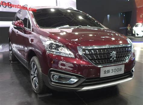 peugeot china peugeot 3008 archives carnewschina com