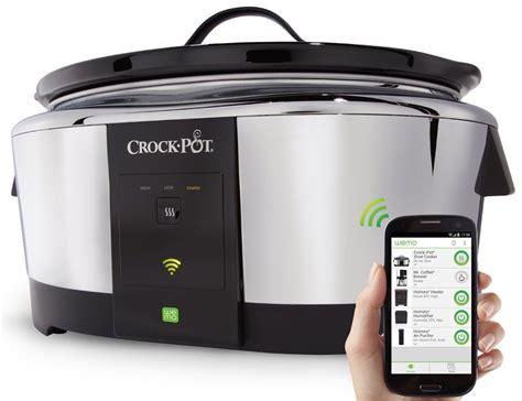 Amazon Com Crock Pot Smart Wifi Enabled Wemo 6 Quart Slow   crock pot smart slow cooker by wemo review 187 the gadget flow