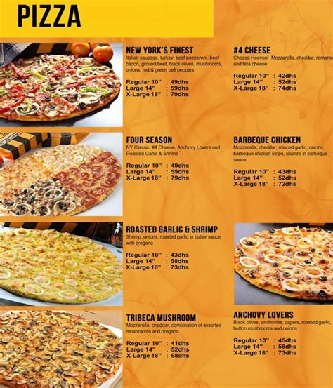 table pizza prices and menu table pizza prices and menu rustic template background