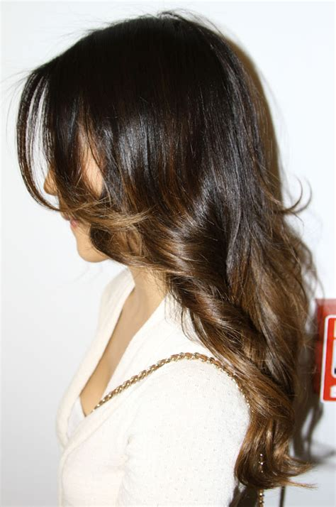 ombre hair for brunettes subtle brunette ombre neil george