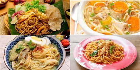 Resep Pilihan Soto Sup Favorit kuliner 5 daftar resep mie enak asal indonesia resep
