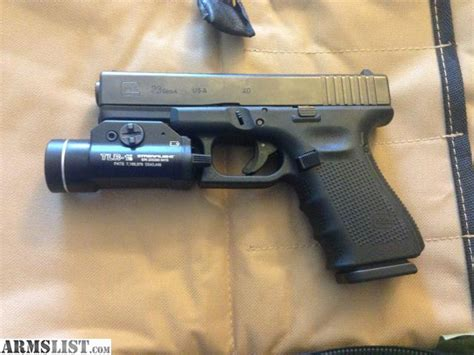 glock 23 tactical light armslist for sale glock 23 4 with tlr 1s tactical light