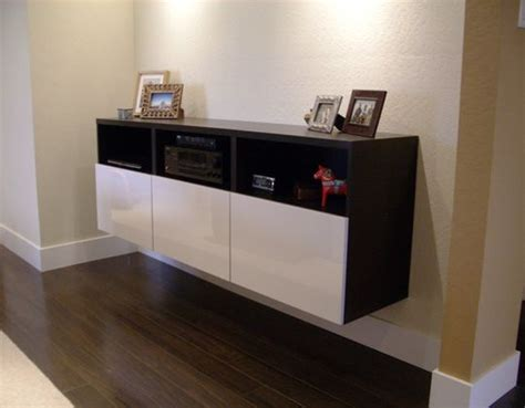 besta floating media cabinet flickr finds ikea wall console
