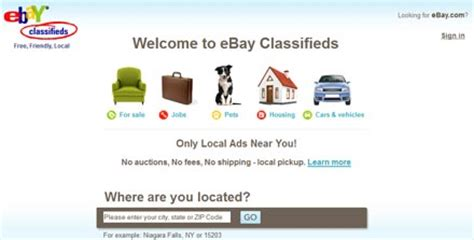 ebay classifieds 6 top free classifieds ads and best marketplace