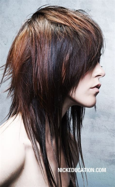 recent tv ads featuring asymmetrical female hairstyles 17 best images about hair on pinterest long shag