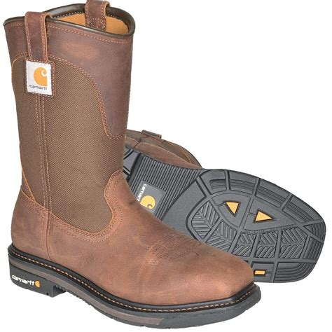 carhart boots carhartt 11 quot h square toe wellington boots plain toe or