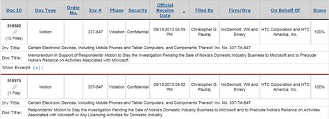 section 337 itc foss patents htc asks itc to stay investigation of nokia
