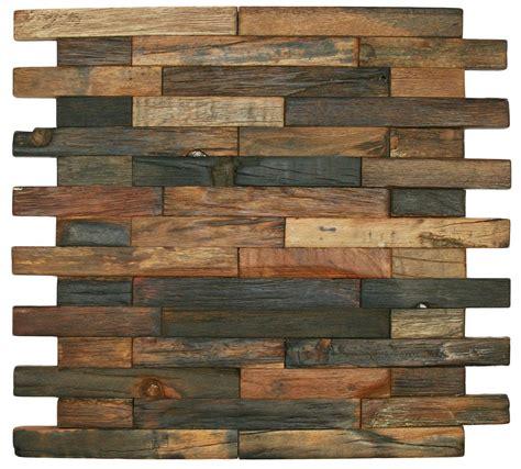 Wooden Bricks reclaimed boat wood tile interlocking bricks brick