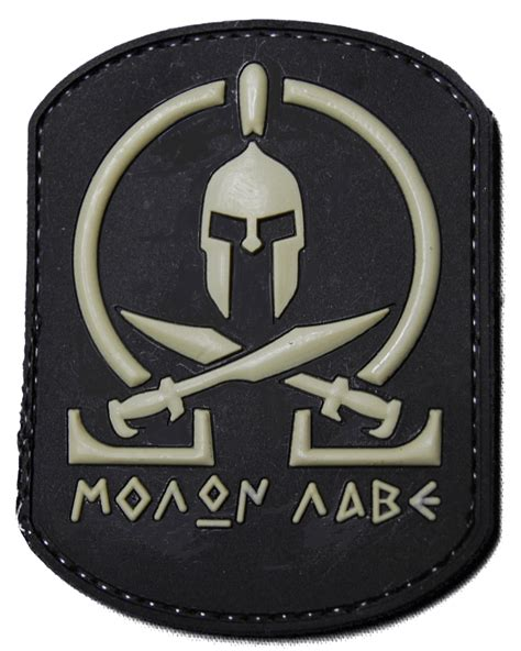 molon labe velcro patch morale patches that are new and different tactical