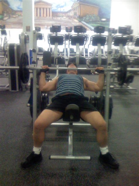 slight incline bench press incline bench press