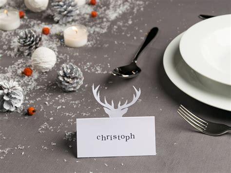 tischdeko weihnachten edel die tischdeko im winter tischkarten selber basteln