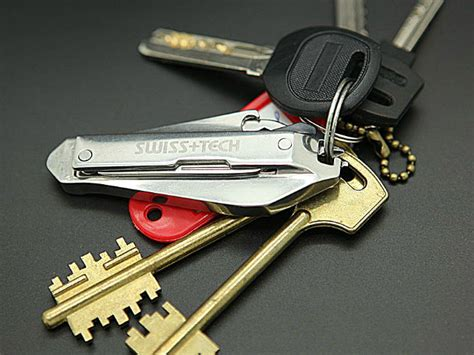 Swiss Knife Multifunction Tool 9 In 1 Keychain Tang Serbaguna supply your diy needs with the swiss tech micro slim 9 in 1 key ring tool kit tool kit key