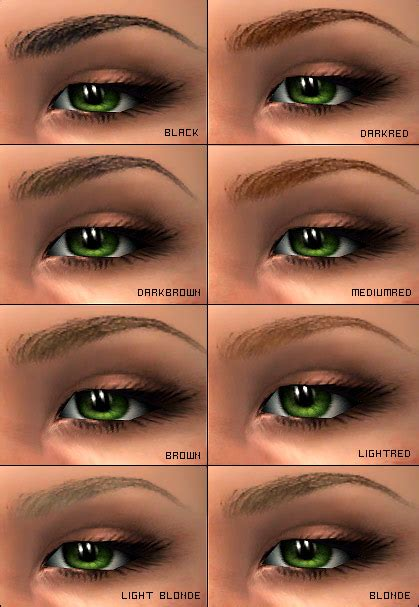 how to color in your eyebrows eyebrow shapes makeup