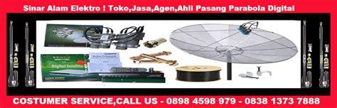 Setting Service Parabola Mpeg 4 Dan Hdmi toko pasang antena tv teluk pucung bekasi utara sinar alam
