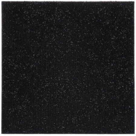 stick rug to floor peel stick carpet tiles jet black