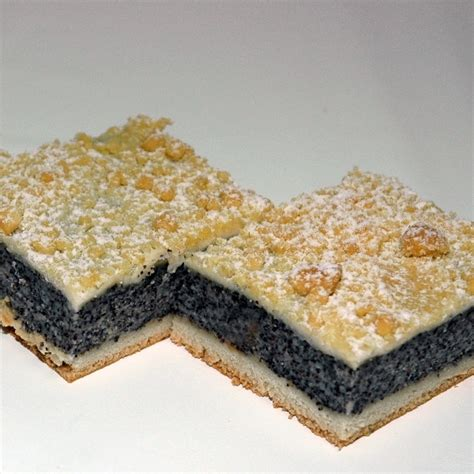 kuchen mit zitronenglasur mohn streusel kuchen rezept k 252 cheng 246 tter