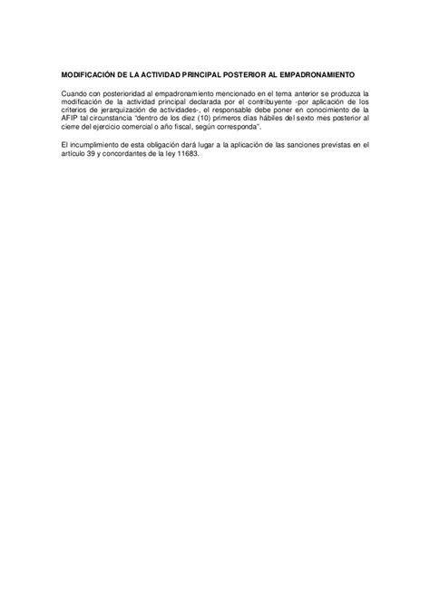nomenclador de actividades afip el nuevo clasificador de actividades econ 243 micas