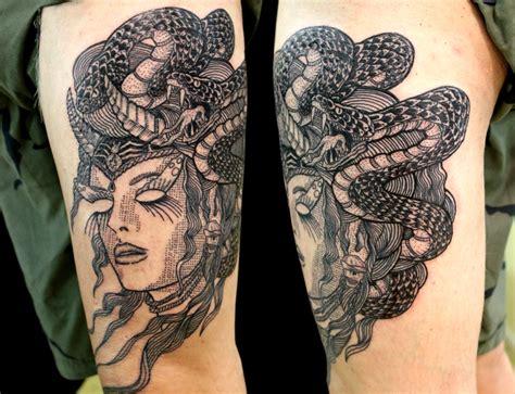 sexy medusa tattoo imaginative medusa medusa arm on