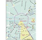 Locality Map Of India Gate