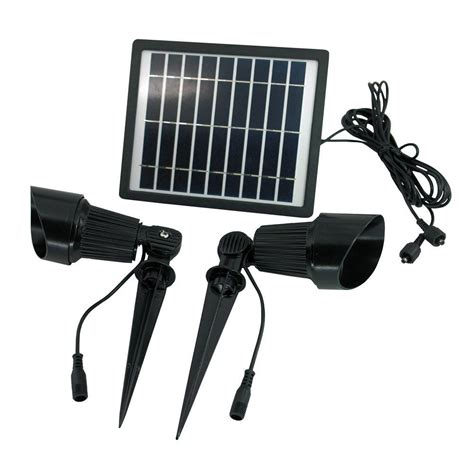 solar led spot light solar goes green solar warm white 24 led sgg s24 ww outdoor spot light sgg s24 ww the home depot