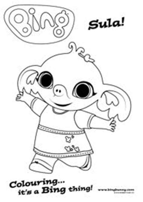 bing bunny coloring page the 11 best images about bing colouring sheets on