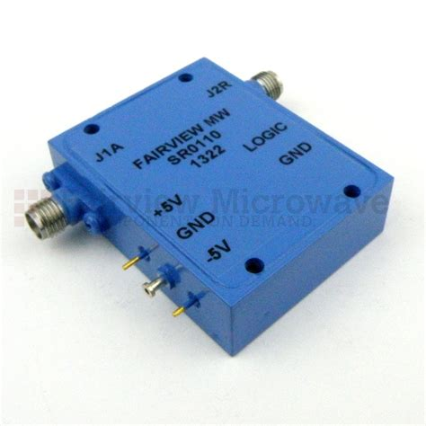 sma pin diode sp1t switch sr0110