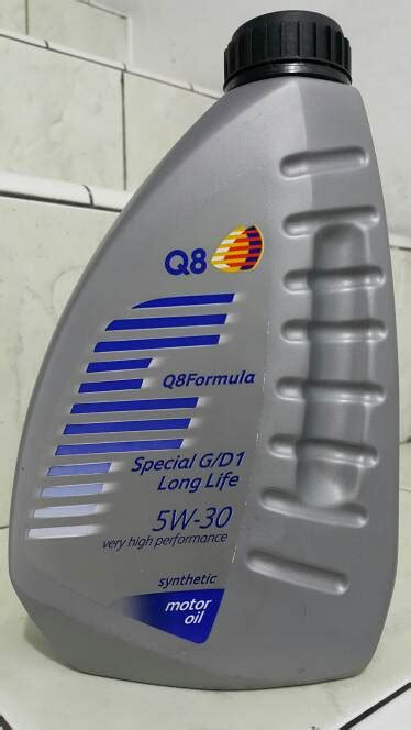 Oli Mobil 1 Sae 5w50 Api Sn Kemasan Galon 4 Liter Mumer jual oli q8 special g d1 sae 5w 30 api sn gf 5 dexos 1 kuwait 1l atpm and