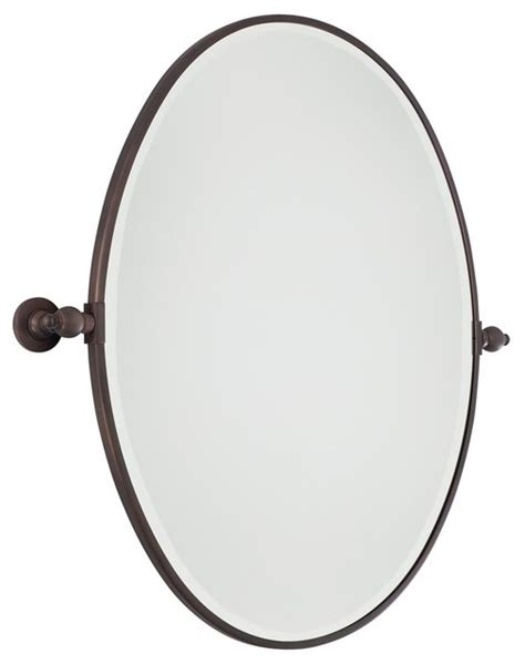 oval tilting bathroom mirror oval tilt bathroom mirror large 3 finishes bathroom