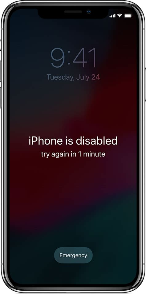 iphone disabled connect to itunes if you forgot the passcode for your iphone or ipod touch or your device is disabled
