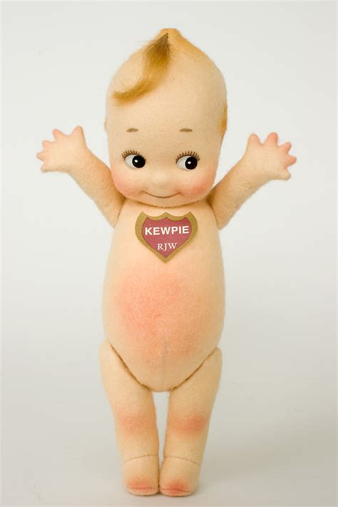 r wright kewpie klassic kewpie le 1000 felt molded limited edition